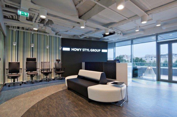辦公與家具展廳設計