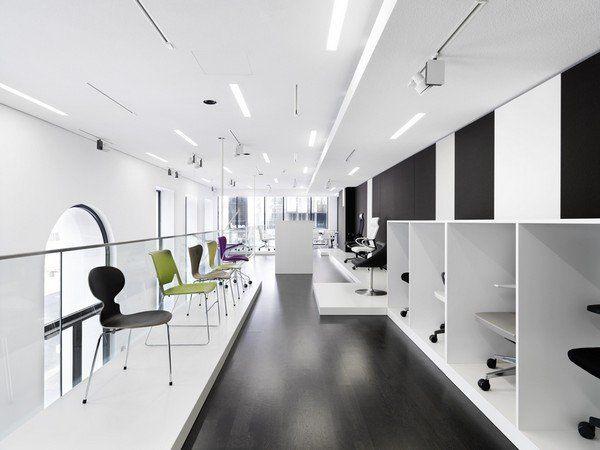 奥地利办公家具bene 维也纳展厅设计