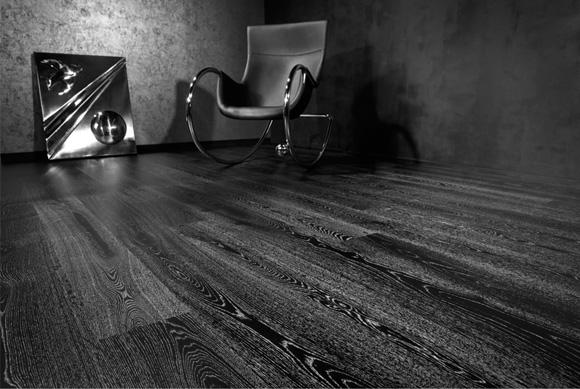 时尚黑橡木地板